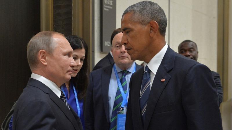 VERBATIM: Obama on 'blunt' Putin Syria talks