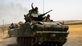 Turkey drives I.S. out of Syria border areas