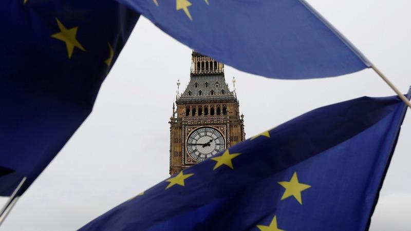 UK's Brexit minister addresses parliament