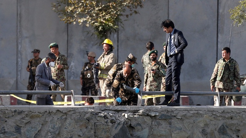 Double suicide blasts kill dozens in Kabul