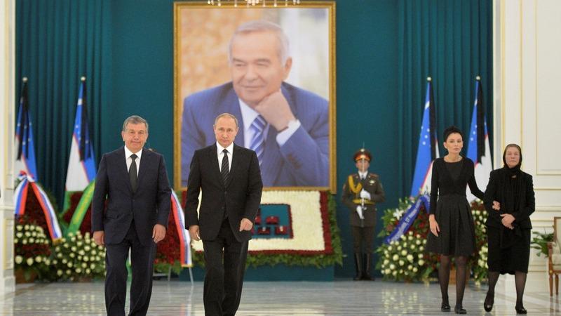 Putin courts Uzbekistan post-Karimov