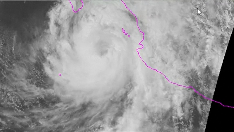 Hurricane Newton slams Mexican Pacific coast