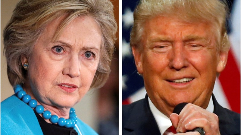 Polls tighten, but Clinton still leads where it counts