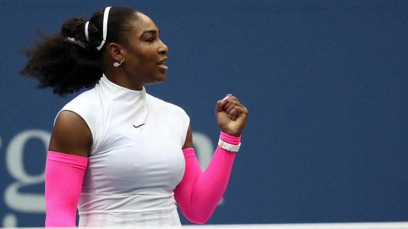 Serena moves closer to U.S. Open history