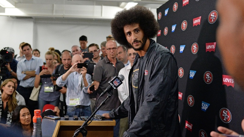 Kaepernick to donate all jersey sales proceeds