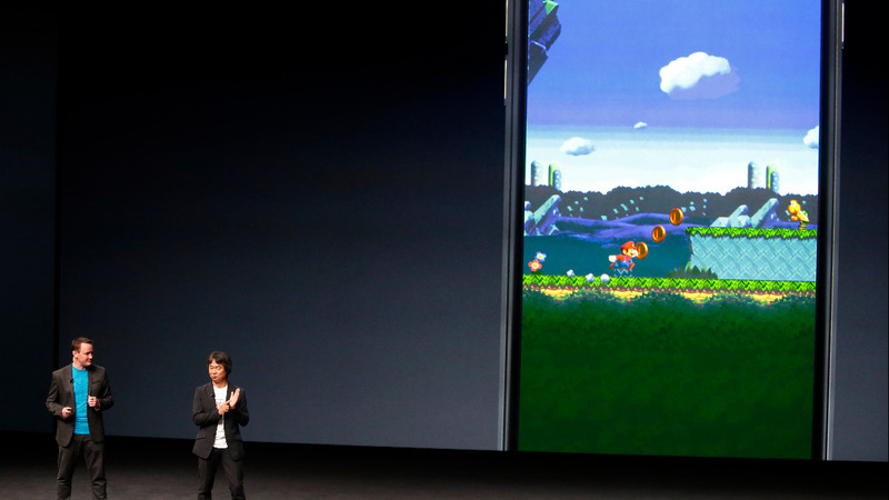 Nintendo shares soar as Mario leaps to mobile