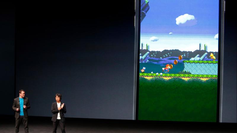 Nintendo shares soar as Mario leaps to mobile