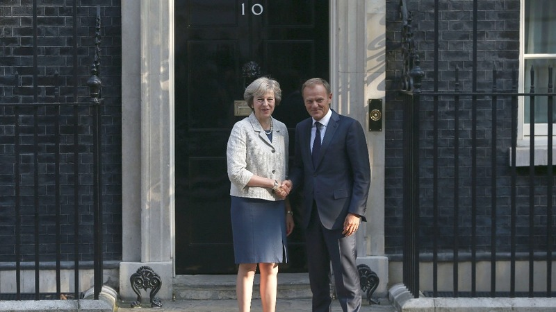 Tusk to UK PM: Brexit 'ball in your court'