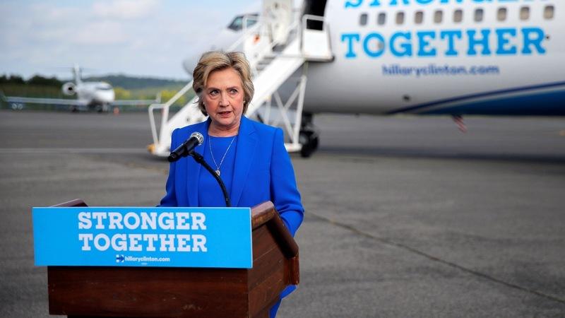 VERBATIM: Clinton pledges to 'hunt down' ISIS leader