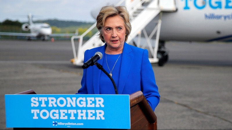 How Hillary is broadening the map