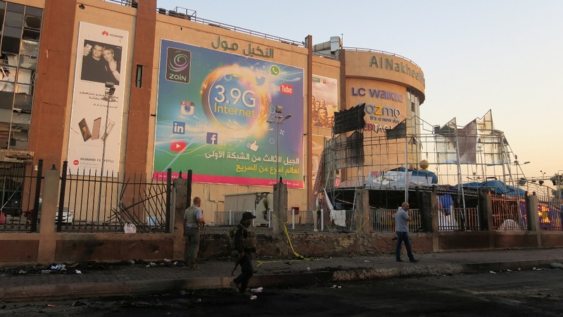 I.S. militants claim Baghdad mall attacks