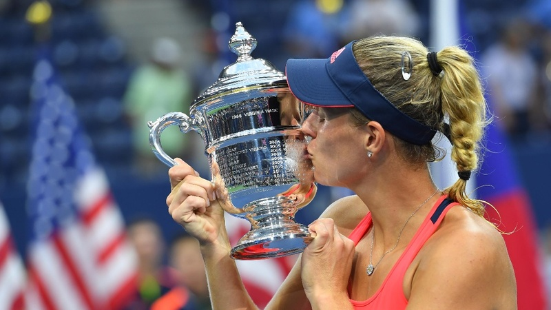 Angelique Kerber swings to U.S. Open victory