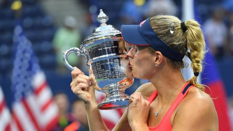 Angelique Kerber swings to U.S. Open victory