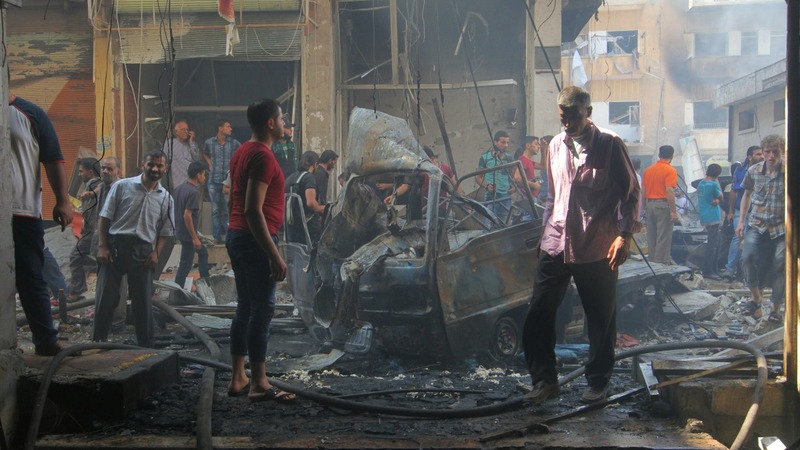 Airstrikes rattle hopes for peace in Syria