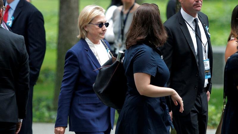 Clinton cancels Calif. trip due to pneumonia