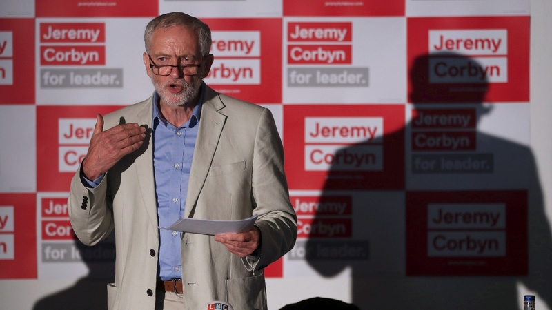 Corbyn marks a year in charge for Labour