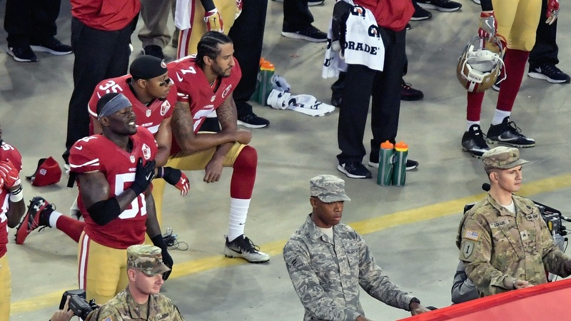 Kaepernick's protest goes national