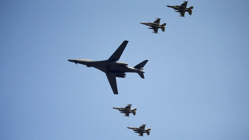 U.S. bombers fly over S. Korea after nuke test