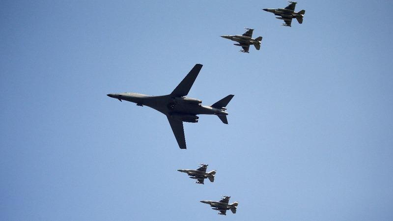 U.S. bombers fly over S. Korea after nuke test