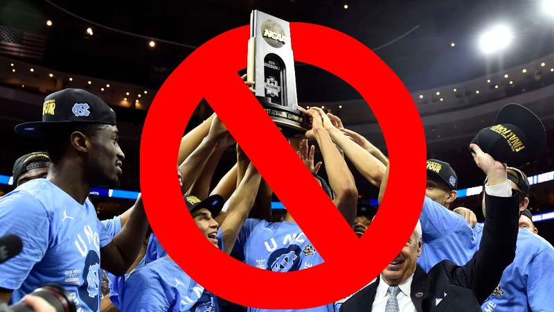 NCAA bans NC from hosting championship games