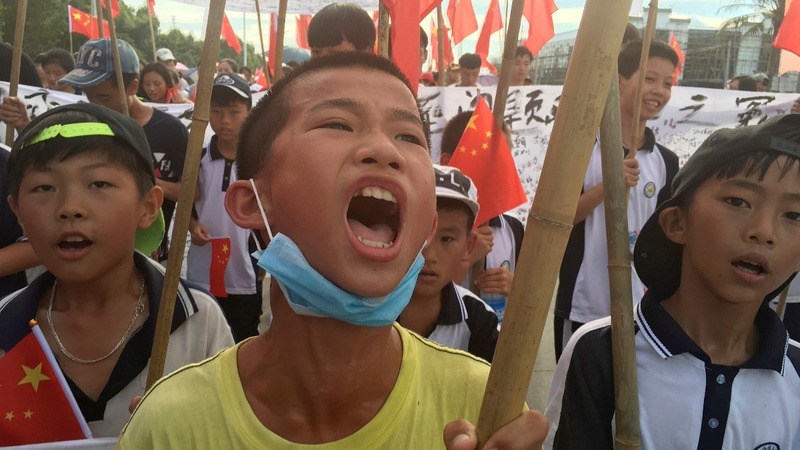 Chinese 'democracy' village erupts in protest