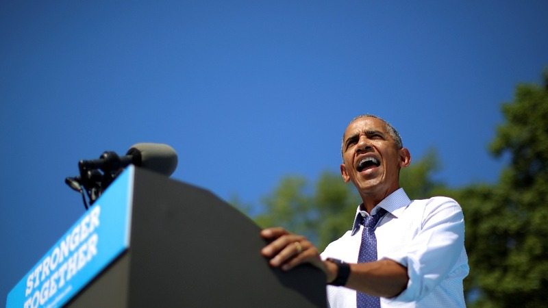 Obama leaps to Clinton's defense in PA