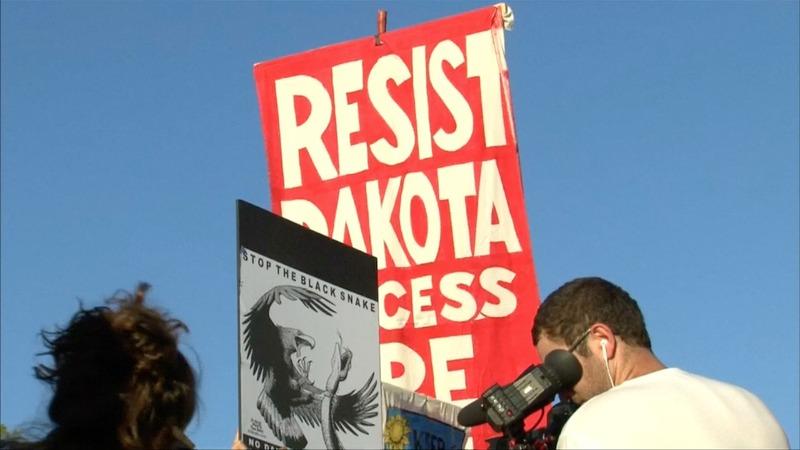 INSIGHT: Protestors warn Dakota pipeline 'will kill us'