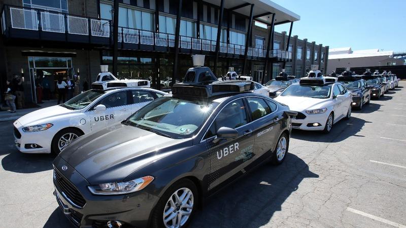Self-driving Ubers roam Pittsburgh