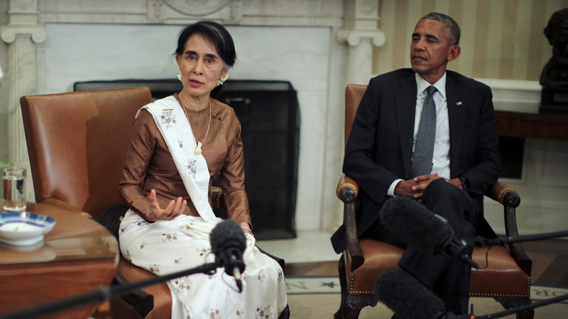 VERBATIM: U.S. to lift sanctions on Myanmar