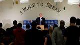 VERBATIM: Flint pastor cuts off Trump mid-speech