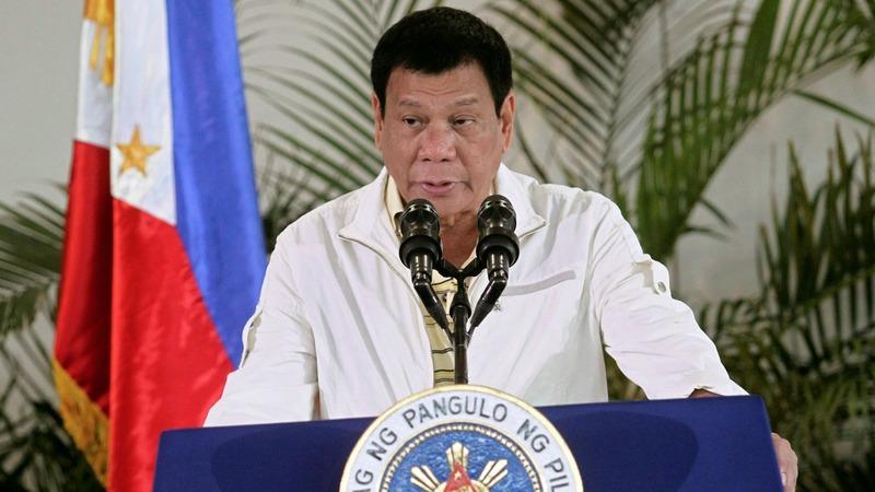 Philippine hit-man claims Duterte ordered killings