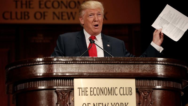 Trump unveils aggressive jobs plan