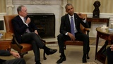 VERBATIM: Obama reacts to Trump birther talk