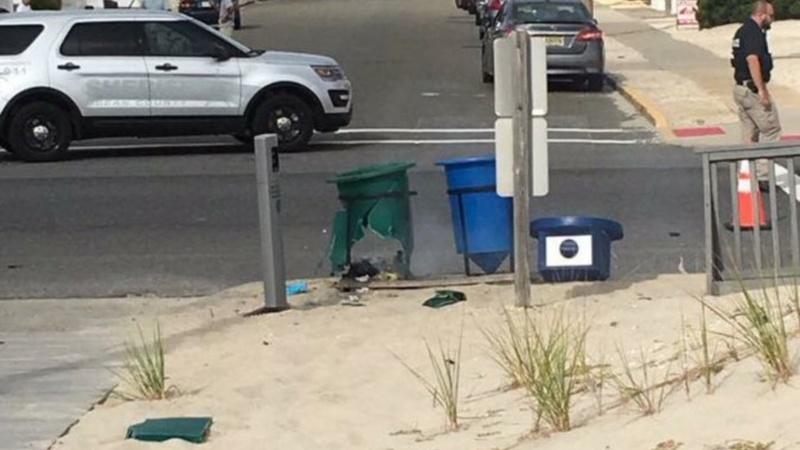 FBI investigating explosion in Jersey beach town