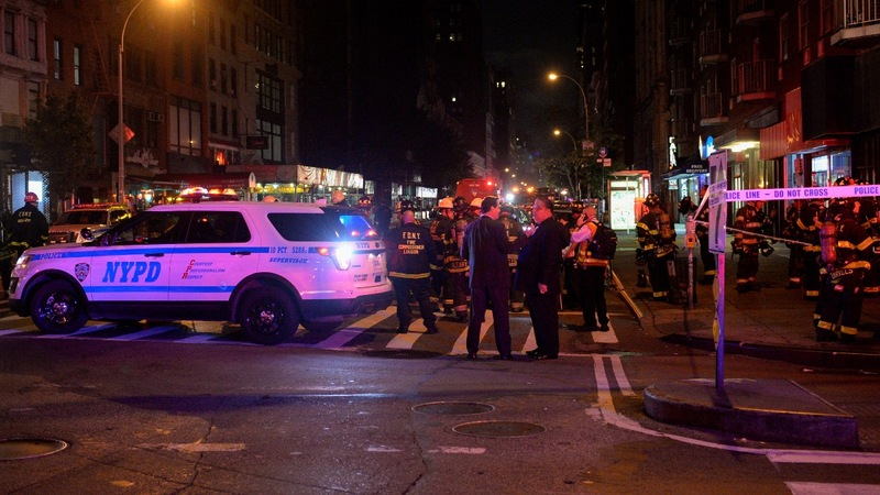 Massive blast in NYC appears to be 'intentional act'
