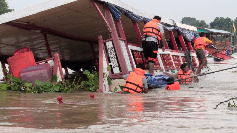 Thailand tourist boat accident kills at least 12