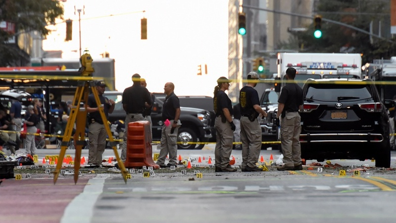 Investigators seek motive in New York attacks