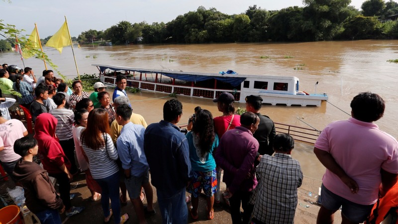 At least 15 drowned in Thailand boat accident