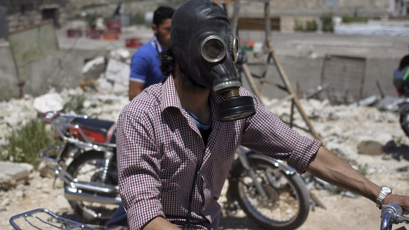 Report blames Syrian military for gas attacks