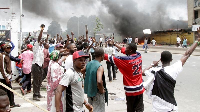 17 dead in Congo anti-government protest