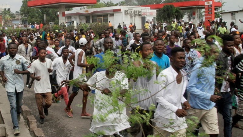 More die in political violence in Congo