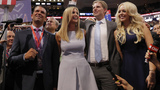Donald Jr.'s antics upstage the old man