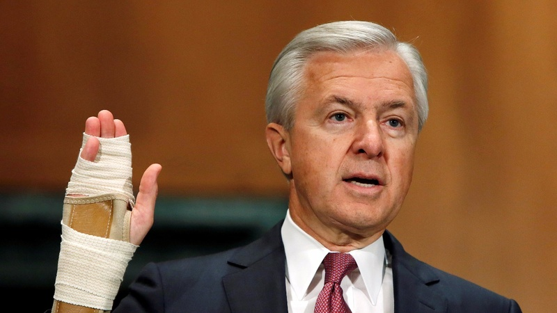 Wells Fargo CEO told to resign in Capitol Hill backlash
