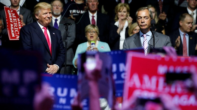Farage talks Trump and his U.S. ambitions