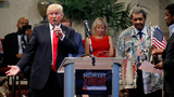 VERBATIM:  Trump, Clinton sound off on police shootings