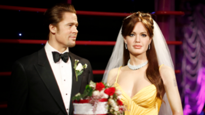 INSIGHT: 'Brangelina' wax figures separated in London