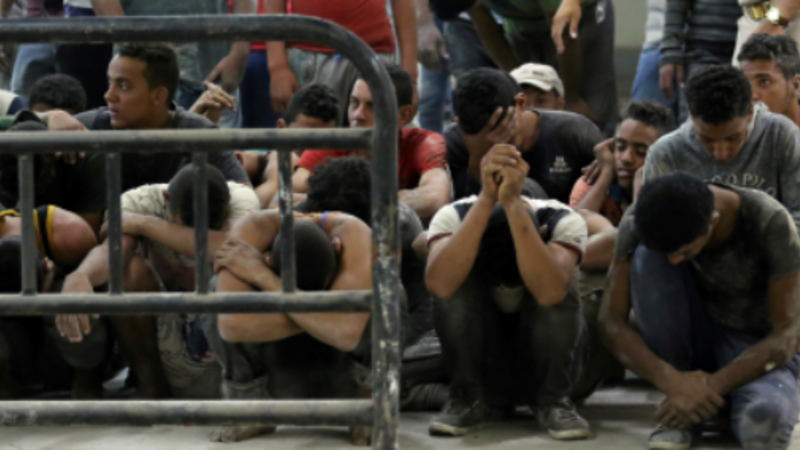 Egypt boat capsize kills dozens of migrants