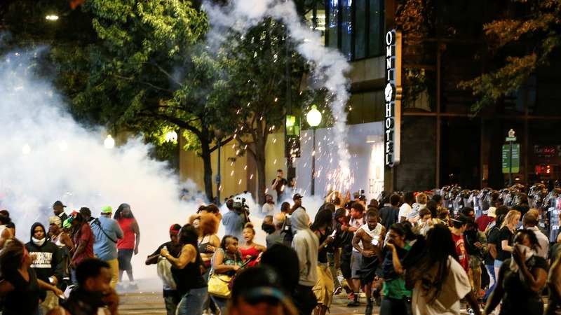 INSIGHT: Night two of Charlotte protests