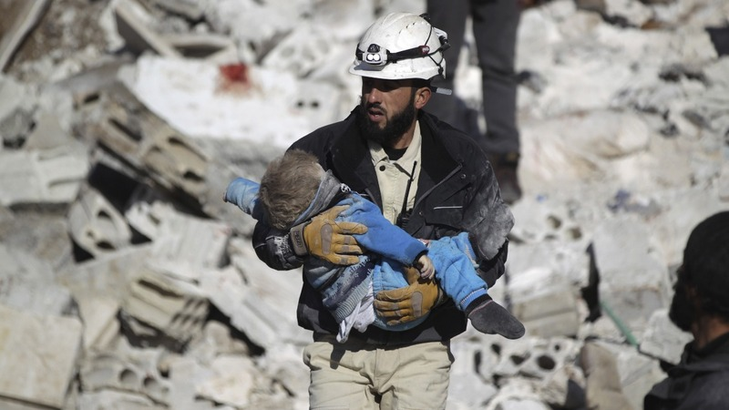 Syria's White Helmets win 'alternative Nobel'