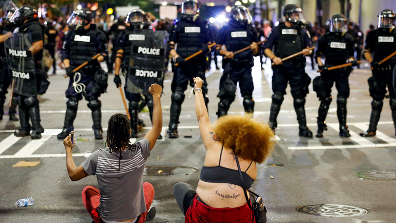 After violent chaos in Charlotte, an investigation ensues